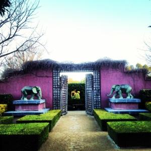 Entrance to the Indian garden